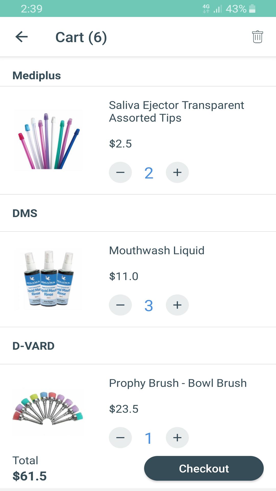 Toothpick app screen 2